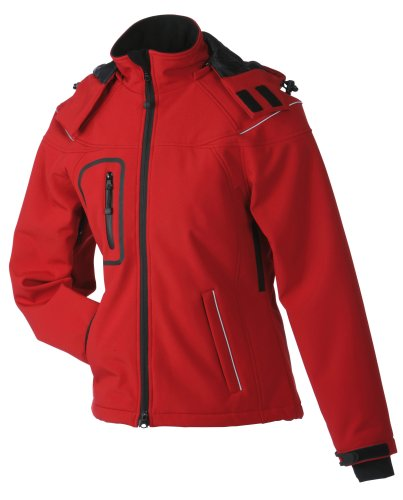 James & Nicholson - Blouson Femme Rouge (red)