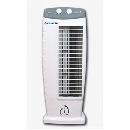 Abs USB Mini Bladeless No Leaf Air Conditioner Cooling Tower Fan,White