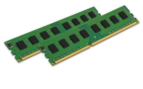 Kingston ValueRAM PC3-8500 Arbeitsspeicher 8GB (DIMM 240-polig, 1066 MHz, 2x 4GB) DDR3 RAM-Kit -