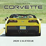 Chevrolet Corvette 2020 Calendar: Monthly Calendar with USA Holidays&Observances, Supercars Calendar, American Muscle Cars, Automobile Calendar...