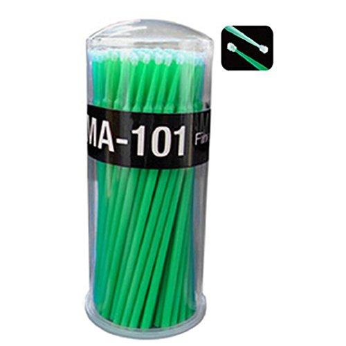 Daedalus® 100 pcs Petite jetables Extensions de cils Micro Brosse applicateurs Mascara