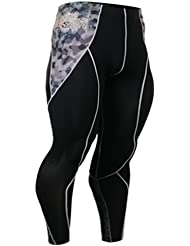 Fixgear Hommes Femmes Military Print Spandex Tights Compression Pants S ~ 2XL