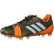 uk availability 34da1 c5f72 adidas Nitrocharge 1.0 TRX FG - Chaussures de Foot Vert Blanc Zeste Solaire