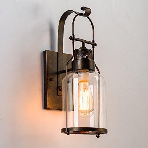 epoca in stile industriale lampade Bar Loft paese americano lampada da parete creativa stilista corridoio (2 Ferro Loft)