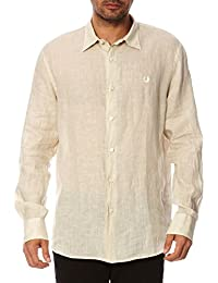Fred Perry Fred Perry Mens Shirt 30202311 7001 BEIGE