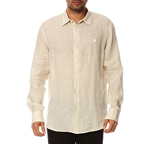 Fred Perry Fred Perry Mens Shirt 30202311 7001 BEIGE Beige
