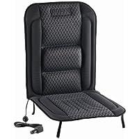 DOMETIC MagicComfort MH 40GS, Housse de siège chauffante grise/noire, 12V, h1000xl450mm, [Certification e - Directive CEM automobile]