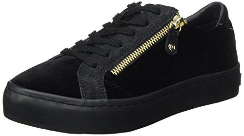 Tommy Hilfiger Damen Velvet Dress Sneaker, Schwarz (Black), 41 EU Black Velvet Sneakers