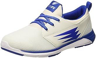 DFY Unisex Athens White/Royal Multisport Training Shoes-4.5 UK/India (38 EU)(DUF18W500802-38)