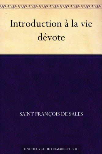 Couverture du livre Introduction à la vie dévote