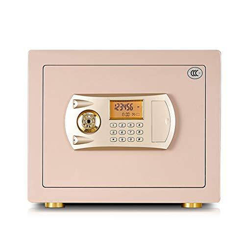 Cajas de caudales Safe Home Micro Password Caja de Oficina de Acero Todo en uno Pared antirrobo 30L...