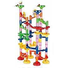Juguetes educativos,Internet Juego de Pelota 91pcs Pequeño plástico Bloques de construcción Juguetes ensamblados Rompecabezas