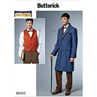 Butterick Patterns MCCALL 's Patterns 6502mqq Disfraz de patrón de Costura para Hombres,, tamaños 46–52