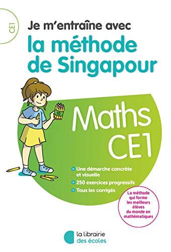 Maths CE1 Je m'entraîne avec la méthode de Singapour por Collectif