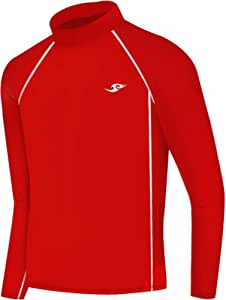 New Boys &Girls Youth 088 Red Compression Skin Tight Baselayer Shirt (L (7))