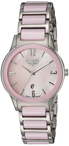 ELYSEE Made in Germany Kim 30022 32mm Stainless Steel Case Multicolor Ceramic Synthetic Sapphire Women's Watch