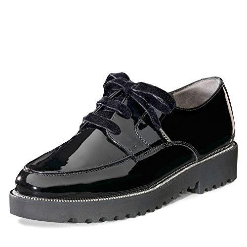 Paul Green 2629-003 Damen Schnürschuh aus Leder Lederfutter mit Lederinnensohle, Groesse 6, schwarz