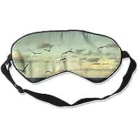 Eye Mask Eyeshade Seagulls Flying Sea Sleep Mask Blindfold Eyepatch Adjustable Head Strap preisvergleich bei billige-tabletten.eu