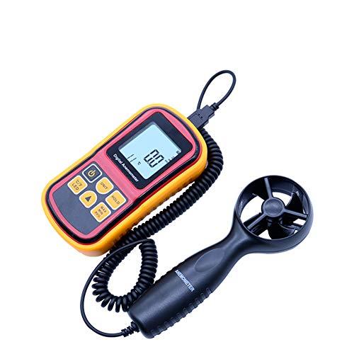 HJEDV 0~45 mt/s Hohe Genauigkeit Anemometro LCD Display Digital-Anemometer Wind Meter Air Velocity Temperatur Meter