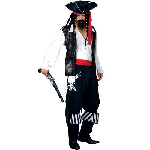 kleidung für Männer Halloween Karneval Fasching Kostüm L ()