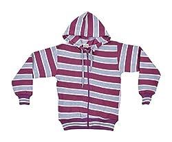 Gold Coins Kids woollen Sweatshirts (GC04 _ 9-10 Years, Purple)