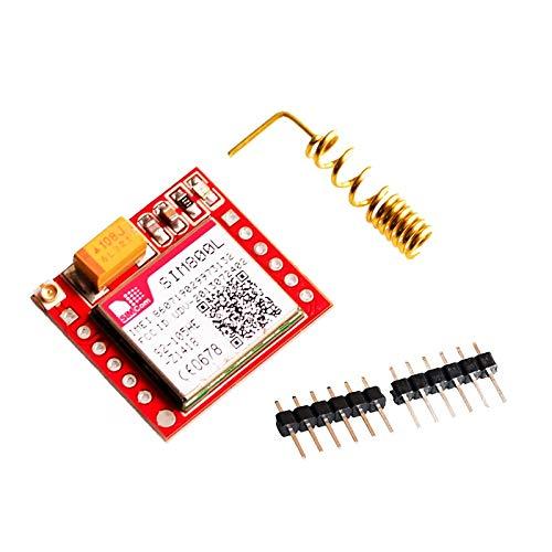 SunRobotics SIM800L GSM GPRS MICRO SIM CARD TTL UART Interface MODULE Arduino Raspberry pi Compatible Quadband with spring Antenna