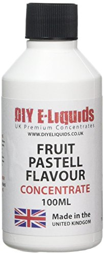 DIY E-Liquids Flavor Concentrate, Fruit Pastell, 100 ml
