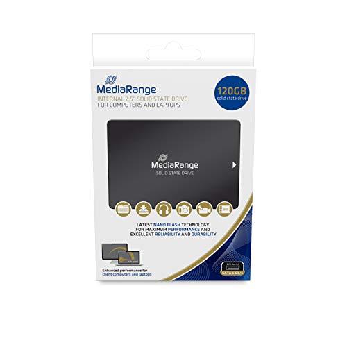 MediaRange 2.5 SSD Fmediarange 2.5 SSD Festplatte 120GB MR1001 SATA III intern - 120 Gb-sata-festplatte
