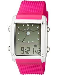 RADIANT Reloj De Pulsera Radiant Ra-126603 Ana-Digi Crono Alarma rosa