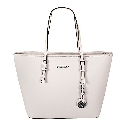 Tom & Eva Damen Handtasche 6288F TE-Jet Set Travel Bag Tasche Beige (Damen Beige Handtasche)
