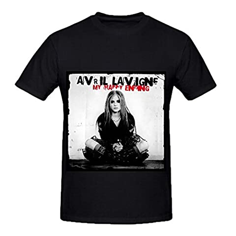 Avril Lavigne My Happy Ending Rock Album Cover Hommes Crew