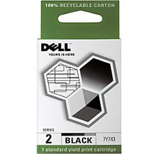 7y743 Tintenpatrone (Dell FN181Tintenpatrone schwarz)