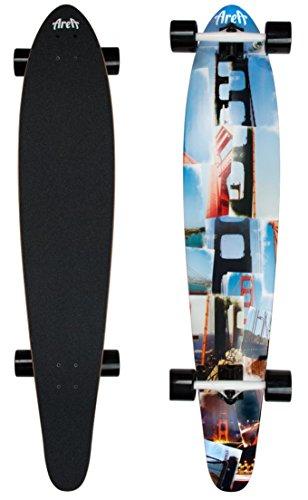 Unbekannt fun4u Longboard San Fran, 116,5cm x 22,9cm