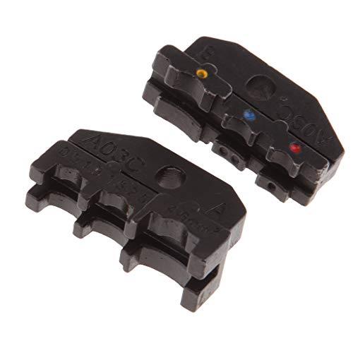 Fenteer Pressbacken Crimpzange Einsatzbacken Matrizen Kabelschuhe Kabelschuhzange - A03C