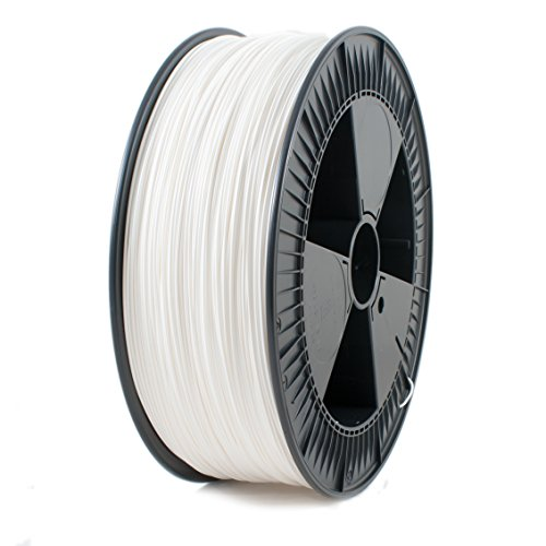 ICE FILAMENTS ICEFIL3ABS243 ABS Filament für 3D-Drucker, 2,85 mm, 2,30 kg, Wondrous White