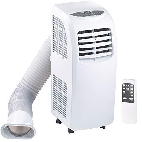 Sichler Haushaltsgeräte Klimageräte: Mobile Monoblock-Klimaanlage mit Entfeuchter, 7.000 BTU/h, 2.000 Watt (Mobile Klimageräte) im Bild