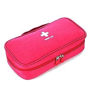 Chinashow Portable Family Emergency Kit – Notfall-Überlebensbeutel, Allzweckreisetasche, Ersthelfer-Medizintasche, für Reisen, Auto, Boot, LKW, Büro