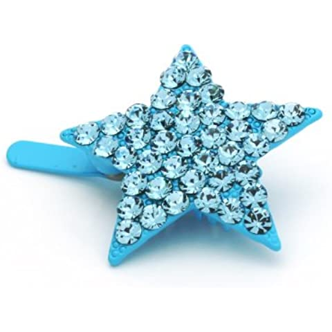 DoubleAccent Hair Jewelry Magnet Mini star Barrette,