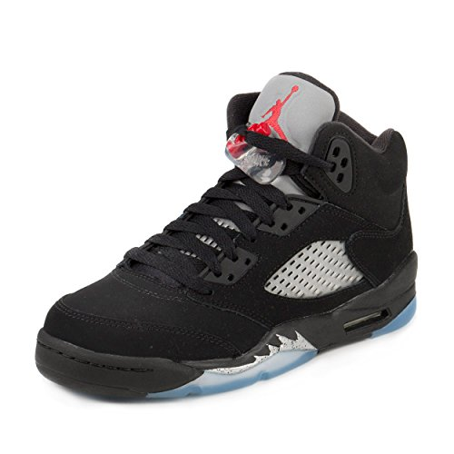 nike-air-jordan-5-retro-og-bg-trainers-men-black-black-fire-red-metallic-silver-white-39