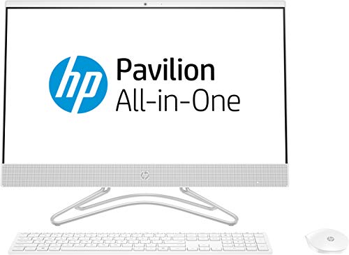 HP 24-f0043in 23.8-inch All-in-One Desktop (8th Gen Intel Core i5-8400T/4GB/1TB/Windows 10 Home/2GB DDR5GB Graphics), Snow White