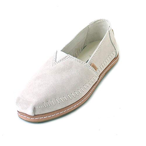TOMS Classic on Leather Women Birch Suede, Größe:36.5 - Classic Lace Up Mokassins
