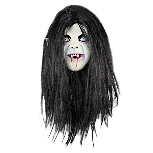 Gysad Mascaras terror latex Halloween Decoracion Adulto Carnaval Fiesta Mascaras Divertido Mascaras halloween size Adulto Un tamaño (#2)
