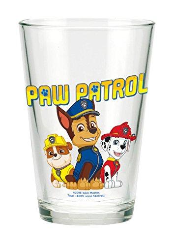 Unbekannt BETA Service Paw Patrol 3er Set Gläser, Kunststoff, bunt, 15 x 25 x 12 cm