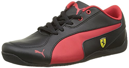 Puma Jungen Drift Cat 5 L Sf Nu Sneaker Schwarz - Noir (Black/Rosso Corsa)