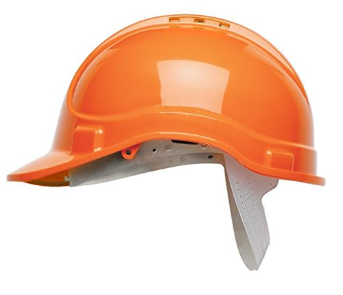 Scott Safety HC300/VO/NSB Safety Helmet Vented without Sweatband, Orange