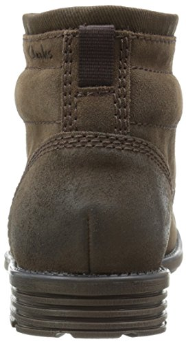 Clarks Darian Heath Boot Brown Leather