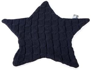 Baby's Only - Copertina bimbo a forma di stella, lavorata a maglia con fodera teddy