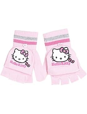 Guanti/moffole bambina Hello Kitty, rosa, 4/8 anni