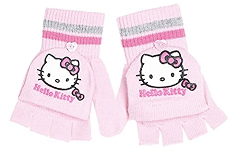 Mitaines/moufles enfant fille Hello kitty Rose 4/8ans