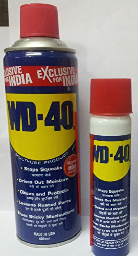 WD-40 Multi-Use Product Spray - 400 ML & 63.8 GMS - with Straw - SUPER SAVER COMBO PACK of 2